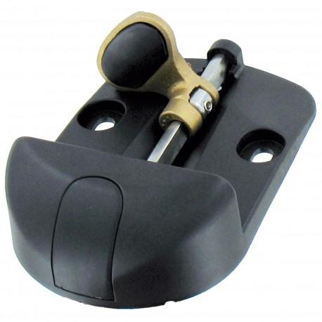 sabot tourniquet polyamide ép 30 à 85, hauteur 40mm, avec protection