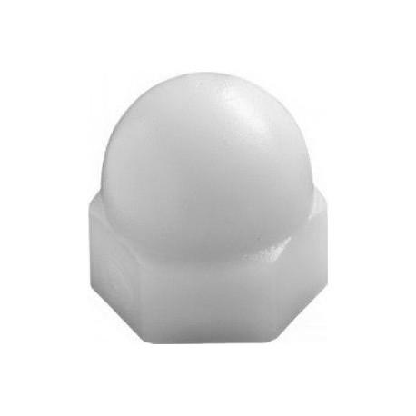 Ecrou polyamide bombé borgne - taille M7 Noir qte mini 100